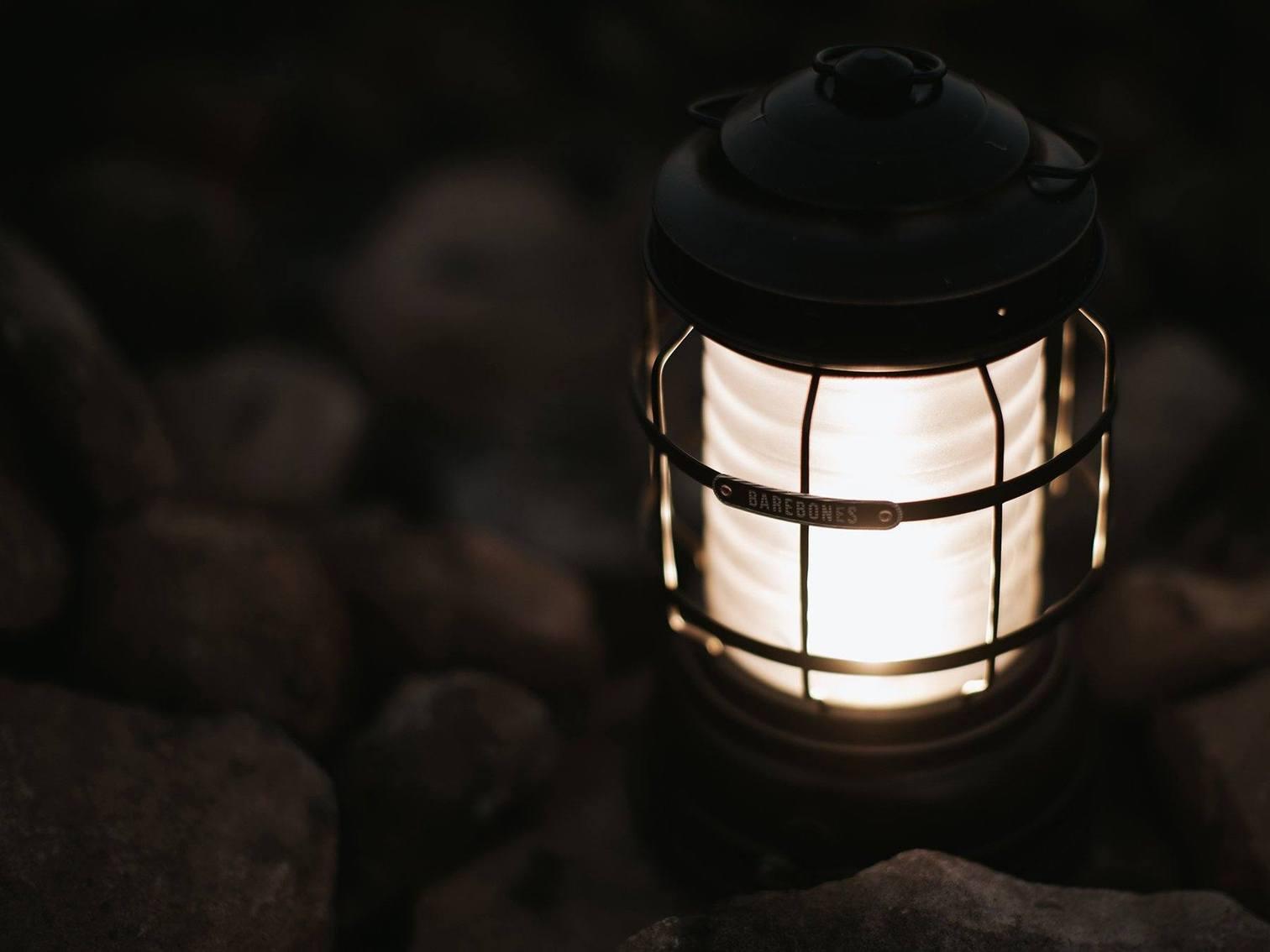 Forest Lantern Antique Bronze